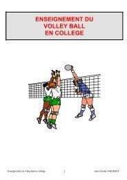 Enseignement du Volley Ball en collège - Académie de Reims
