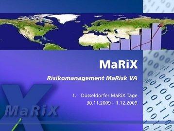MaRiX-Software Teil 2 - Xapio GmbH