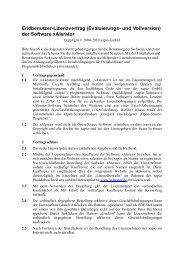 der Software xAlerator - Xapio GmbH
