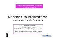Maladies auto-inflammatoires - Groupe Français d'Etude des ...