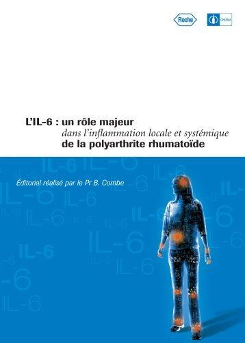 L'IL-6 : un rôle majeur dans l'inflammation locale et ... - Roche