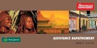 assistance rapatriement - Nouvelles Frontières