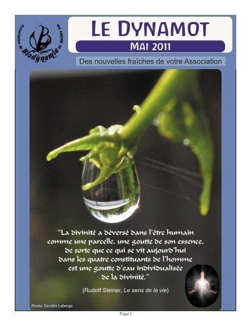 Dynamot #9 mai 2011 - Association de biodynamie du Québec