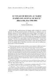 LE VOYAGE DE BOULIFA AU MAROC D'APRE`S SON ... - Berbère