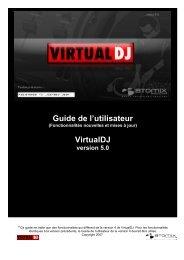Guide de l'utilisateur - Virtual DJ
