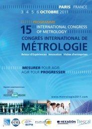 Valérick CASSAGNE - tOtal (FR) - Congrès de métrologie 2011