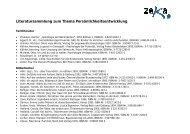 Literatursammlung Integrationswoche - zeka, Zentren ...