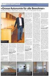Wohnhaus Aargau: Baureportage - zeka, Zentren körperbehinderte ...