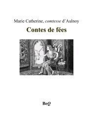 Contes de fées - La Bibliothèque électronique du Québec