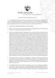 Versteigerungsbedingungen - Auktionshaus von Zengen