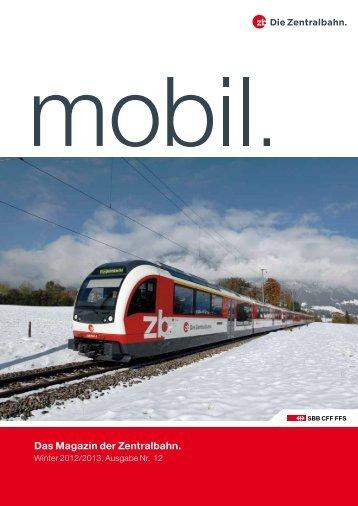 Winter 2012 - Zentralbahn