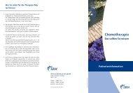 Chemotherapie (PDF) - SRH Zentralklinikum Suhl