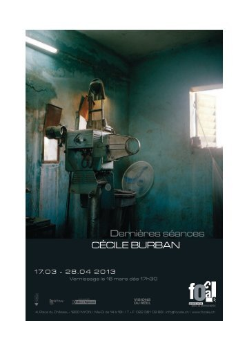 CéCile BurBan Dernières séances - Focale