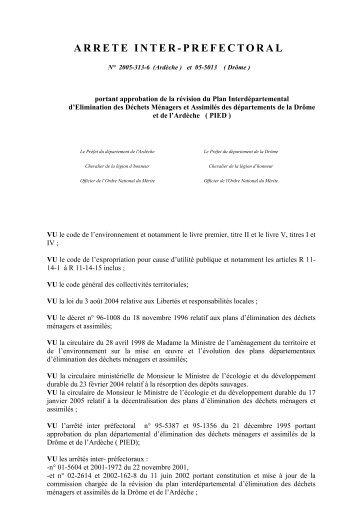 plan Drome Ardeche - DREAL Rhône-Alpes