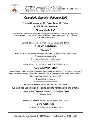 Noste reis - Provincia di Torino