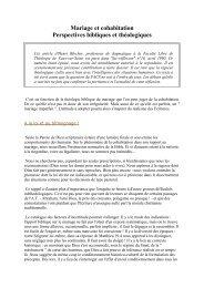 Mariage et cohabitation (Henri Blocher) - Nouvelle page 1