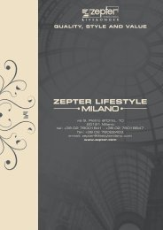 QUALITY, STYLE AND VALUE - Zepter