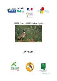 Annexe DOCOB Natura 2000 ZPS Costières ... - Nîmes Métropole
