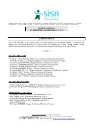 CONVOC COMITE - Syndicat intercommunal de la Siagne et ses ...