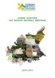 Schéma directeur des espaces naturels sensibles - Conseil Général ...