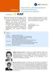 """Meet The Experts: """"Beteiligungsmanagement Und ... - zetVisions AG"""