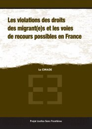 s et les voies de recours possibles en France - JSF-JWB Migrants ...