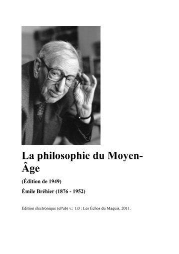 La philosophie du Moyen-Âge (1949).pdf - Les Échos du Maquis