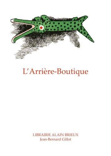 L'Arrière-Boutique - Librairie Alain Brieux