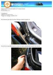 Déposer le BP arrière du roadster en 15 minutes chrono. L ...
