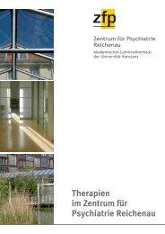Therapien im ZfP Reichenau - Zentrum für Psychiatrie
