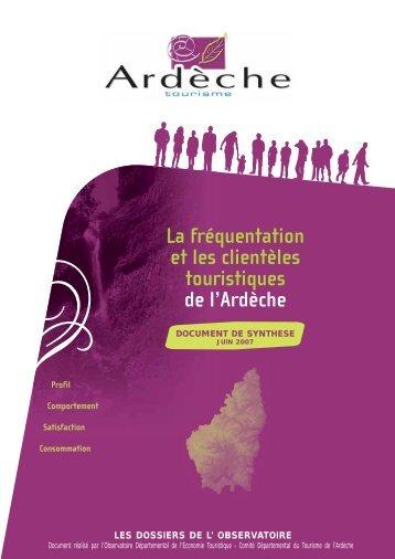 Télécharger le document - Espace PRO - Tourisme en Ardèche