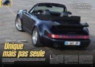Turbo 3.6 cabriolet - SpeedStar Spécialiste Porsche Occasion
