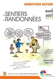 Animations nature 2013 - Programme