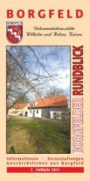 Borgfelder Rundblick 2/2013