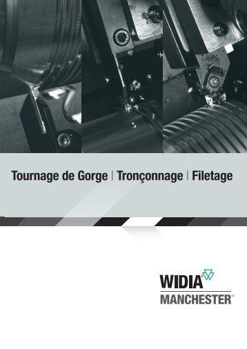 Tournage de Gorge | Tronçonnage | Filetage - Widia.com