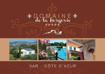 Brochure - Domaine de la Bergerie