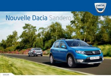 Nouvelle Dacia Sandero - Groupe Simonneau