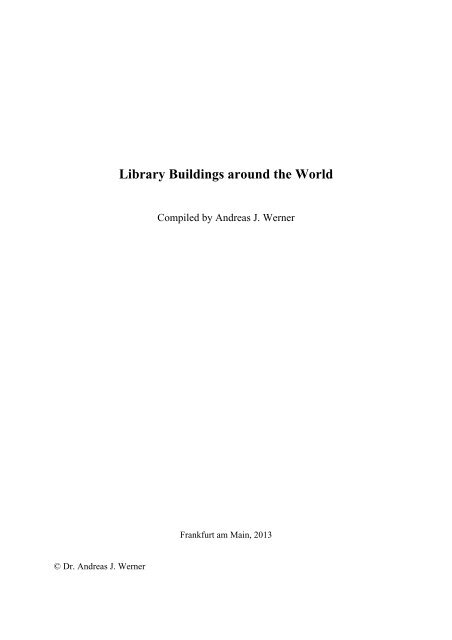 Library Buildings Around The World