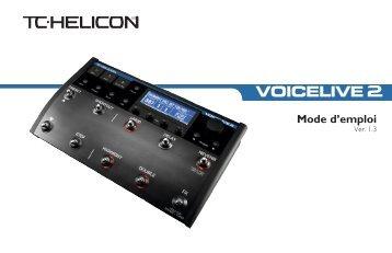 Mode d'emploi - TC-Helicon