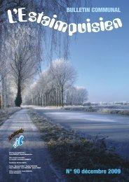 n°90 décembre 2009 - Estaimpuis