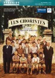 Tyneside Cinema: Les Choristes study guide - Routes Into Languages