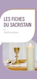 Les fiches du sacristain - Liturgie catholique