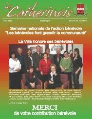 4 mai 2007 Dépôt légal Volume 26 Numéro 5 À l'arrière-plan, de ...