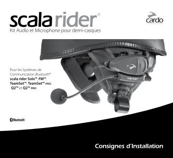 Consignes d'Installation - Cardo Systems, Inc