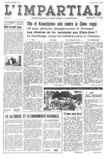 1 - Archives historiques