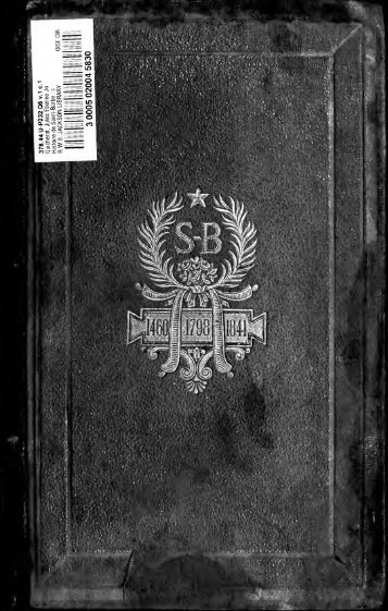 Histoire de Saint-Barbe - University of Toronto Libraries