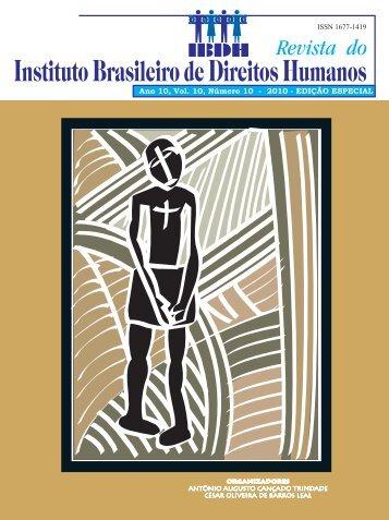 Ano 10, Vol. 10, Número 10 - 2010 - EDIÇÃO ESPECIAL - Instituto ...