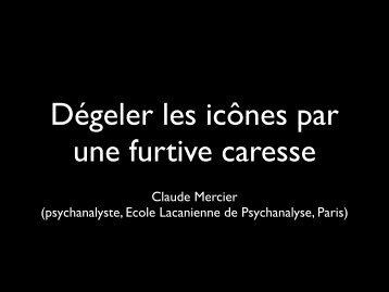 Claude Mercier (psychanalyste, Ecole Lacanienne ... - TransOceanik