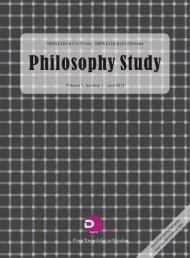 Philosophy Study - Centro de Filosofia das Ciências da ...