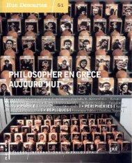 traduire et enseigner l'esthétique contemporaine en Grèce